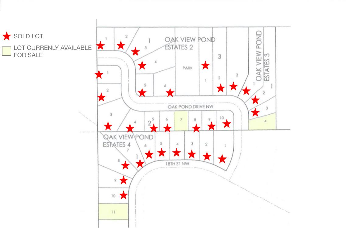 Oak View Ponds Estates by Wollak Construction